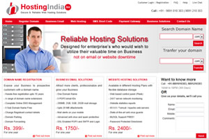 Business Email, Web Hosting Services Solutions Company in India